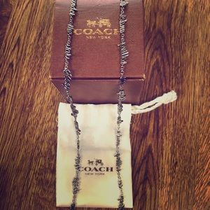 """Coach Necklace """"Keep on Rolling Under the Stars"""""""
